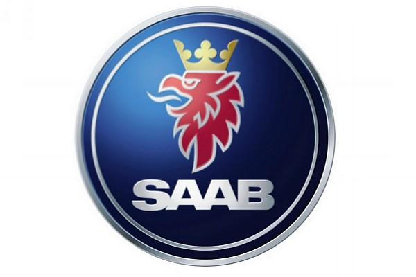 saab,后即作为公司轿车的标志. 商标正中是一头戴王冠的狮子高清图片